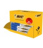 Pack 20+4 marqueurs effaçables BIC - Velleda 1781 - pointe biseautée