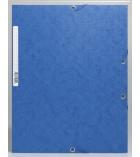 Chemise gaufrée carte lustrée EXACOMPTA Scotten - à rabats - 400g
