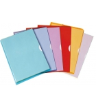 Paquet de 10 pochettes coin PVC ELBA Fard'liss