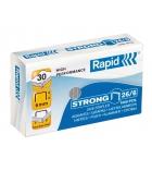 Boîte de 1000 agrafes RAPID - 26/6 strong