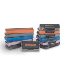 Blister de 3 recharges pré-encrées TRODAT- encrier 6/4850 - bicolore