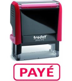 """Tampon TRODAT- X printy - encrage automatique """"payé"""""""