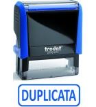 "Tampon TRODAT- X printy- encrage automatique ""duplicata"""