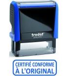 """Tampon TRODAT- X printy - encrage automatique """"certifié conforme à  l'original"""""""