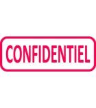 "Tampon TRODAT- X printy - encrage automatique ""confidentiel"""