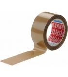 Paquet de 6 adhésifs TESA - PVC havane - 50 mm x 100 m