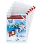 Paquet de 2 pochettes adhésives TARIFOLD Kang - fermeture coin aimanté - pour A3