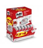 Box de 12 correcteurs + 4 gratuits PRITT - 4,2 mm x 8,5 m