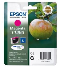"""Cartouche d'impression """"pomme"""" jet d'encre magenta EPSON 330 pages - C13T12934011 - T1293"""