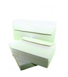 Boîte de 500 enveloppes auto-adhésives CLAIREFONTAINE Forever - 110 x 220 mm - sans fenêtre - 80 g