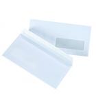 Boîte de 500 enveloppes auto-adhésives GPV - 110 x 220 mm - fenêtre 45 x 100 - 75 g