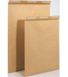 Boîte de 250 pochettes auto-adhésives brun armé - 229 x 324 mm - sans fenêtre - 130 g