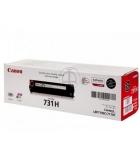 Cartouche d'impression laser couleur noir CANON 2400 pages - CRG-731H