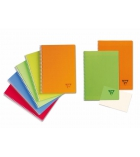 Cahier spirale CLAIREFONTAINE Linicolor - 328725 - 100 pages - 17 x 22 cm - 5 x 5
