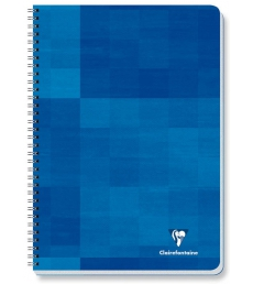Cahier spirale CLAIREFONTAINE - 68142C - 100 pages - 21 x 29,7 cm - 5 x 5