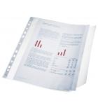 Paquet de 10 pochettes perforées ESSELTE à rabat latéral - A4