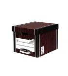 Lot de 10 grands containers FELLOWES - bois premium 726