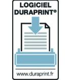 Boîte de 200 cartes imprimables DURABLE - 60 x 90 mm
