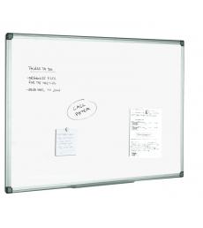 Tableau blanc laqué - cadre alu - 100 x 150 cm