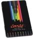 Boîte métal de 10 feutres de coloriage BIC - Conté - couleurs vives