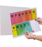Paquet de 5 pochettes d'affichages adhésives TARIFOLD Kang - pour A4