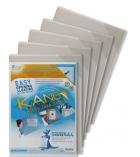 Paquet de 5 pochettes avec affichage magnétique TARIFOLD Kang - pour A4