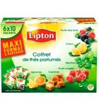 Coffret LIPTON - 60 sachets de thé parfumé