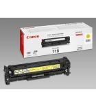 Cartouche d'impression laser couleur jaune CANON  2900 pages - CRG-718Y