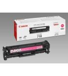 Cartouche d'impression laser couleur magenta CANON  2900 pages - CRG-718M