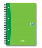 Cahier organiseur spirale OXFORD European book - 240 pages - A4+ - 5 x 5