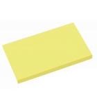 Bloc notes repositionnables - 75 x 125 mm - jaune