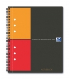 Cahier spirale OXFORD Activebook - 160 pages - A5+ - 5 x 5