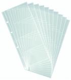 Sachet de 10 pochettes porte-cartes DURABLE Visifix Centium - pour 200 cartes