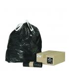 Paquet de 200 sacs-poubelle de 50 litres - liens coulissants
