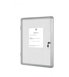 Vitrine d'intérieur BI-OFFICE - enclore magnétique - 9 feuilles A4