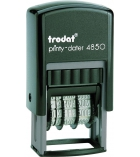 """Dateur automatique TRODAT Printy 4850L8 - """"Saisi le"""" 3,8 mm"""