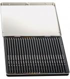 Boîte métal de 24 crayons de couleur BIC - Conté