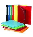 Chemise carte 3 rabats à élastiques EXACOMPTA Maxi Capacity - 24 x 32 cm