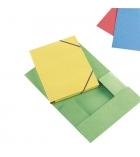 Chemise 3 carte rabats à élastiques