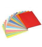Paquet de 100 chemises Super 180 EXACOMPTA Jura 160 g teinte pastel