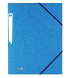 Chemise carte 3 rabats et élastiques  - dos 3 cm