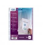 Sachet de 10 pochettes perforées PVC ELBA Fard'clirel - A4