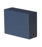 Boîte de classement toilée en carton - pour A4 - dos 12 cm