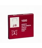 Boîte de 1000 agrafes - Jaky 8 cuivrés
