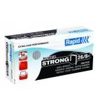 Boîte de 5000 agrafes RAPID - Superstrong+ 26/8