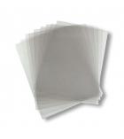 Paquet de 100 plats de couverture transparents incolores - A4 -  épaisseur 15/100e
