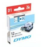 Ruban laminé DYMO D1 - 12 mm x 7 m - bleu/blanc