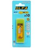 Etui de 10 lames pour cutter OLFA Feuillard SK10 - 9 mm