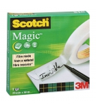 Rouleau invisible SCOTCH - Magic 810 - 19 mm x 66 m