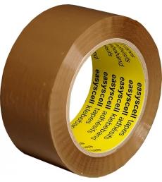 Ruban adhésif polypro brun - découpe sans dévidoir - 50 mm x 66 m